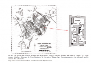 Plan of Nippur and House F