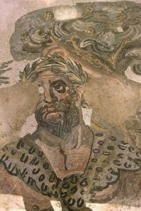 Mosaic, Marsyas, Piazza Armerina