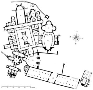 Plan of Piazza Armerina