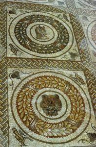 Peristyle mosaic, Piazza Armerina.