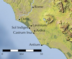 Castrum Inui map