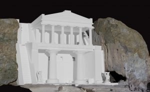 Tombe rupestre étrusque de Grotte Scalina